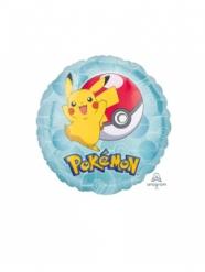 Petit ballon aluminium rond Pokémon™ 23 cm