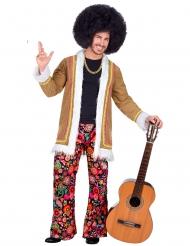 Déguisement hippie woodstock homme
