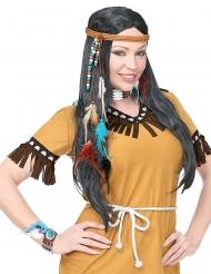 Kit accessoires indien sauvage adulte