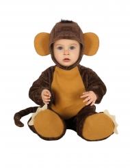 Déguisement combinaison chimpanzé bébé