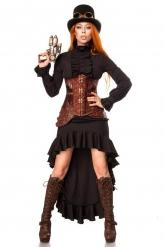 Déguisement combattant steampunk femme