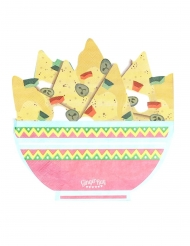 16 Serviettes en papier nachos 33 cm