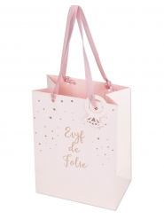 Sac EVJF de folie rose gold 15 x 20 cm
