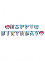 Guirlande Happy Birthday Pokémon™ 218 x 12 cm