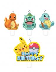 4 Bougies anniversaire Pokémon™