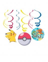 6 Suspensions en spirales Pokémon™