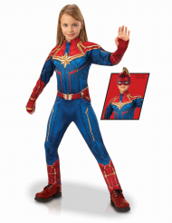 Déguisement luxe Captain Marvel™ fille