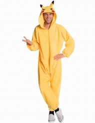 Déguisement combinaison Pikachu Pokemon™ adulte