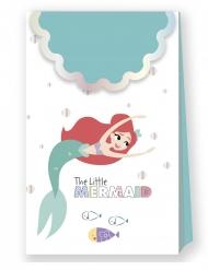 6 sacs cadeaux en carton premium Ariel™ 21 X 13 cm