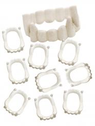 Pack de 10 dentiers vampire