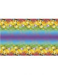 Nappe en plastique Emoji Rainbow™ 137 x 213 cm