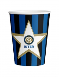 8 Gobelets en carton Inter™ 266 ml