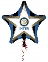 Ballon aluminium étoile Inter™ 48 cm