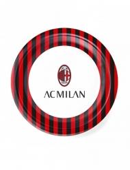 8 Petites assiettes en carton AC Milan™ 18 cm