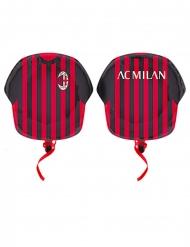Ballon aluminium maillot de foot AC Milan™ 60 cm