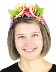 Serre-tête à fleurs exotiques adulte