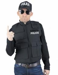 Faux gilet pare-balles police adulte