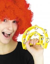 Tambourin jaune 40 cm