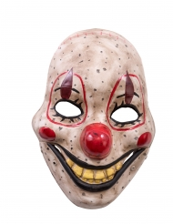 Masque clown de l