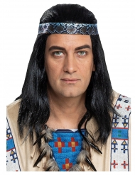 Perruque Winnetou™ adulte