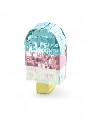 Mini pinata glace métallisée 6 x 11,5 x 3,5 cm