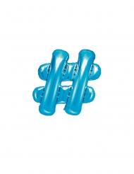 Ballon en aluminium # bleu 35 cm