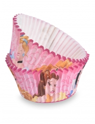 50 Moules à cupcake Princesses Disney™ 7 cm