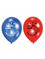 6 ballons en latex Cars™ 23 cm