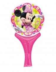 Petit ballon aluminium Minnie™ 15 x 30 cm