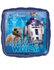 Ballon en aluminium carré Star Wars Le dernier Jedi™ 43 x 43 cm