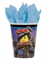 8 Gobelets en carton La grande Aventure Lego 2™ 266 ml