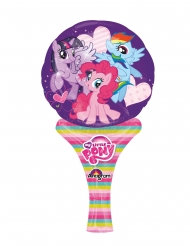 Petit ballon aluminium My Little Pony™ 15 x 30 cm