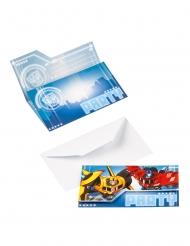 8 Invitations Transformers™