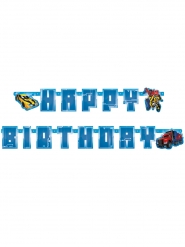 Guirlande en carton Happy Birthday Transformer™ 180 x 15 cm