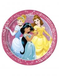 8 Assiettes en carton Princesses Disney Jour de Rêve™ 23 cm