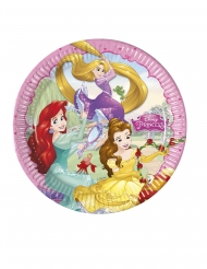 8 Assiettes en carton Princesses Disney Dreaming™ 23 cm