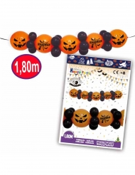 Guirlande ballons latex halloween 1,8 m
