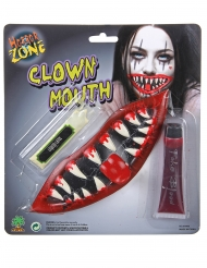 Kit maquillage bouche de clown effrayant