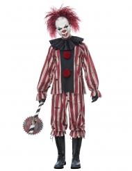 Déguisement clown démoniaque adulte
