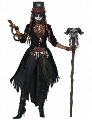 Déguisement magicienne vaudou femme