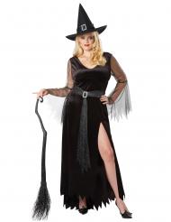 Déguisement sorcière chic grande taille femme