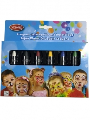 6 crayons maquillage à l