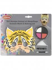 Set masque et maquillage tigre enfant