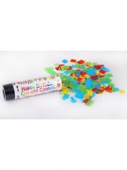 Canon à confettis happy birthday 15 cm