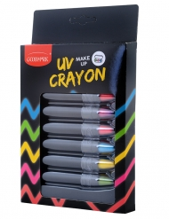Set de 6 crayons maquillage UV 2,8 g