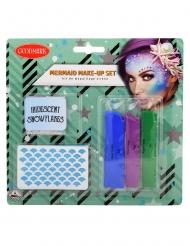 Kit de maquillage sirène