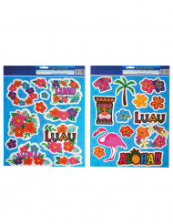 2 Planches de stickers Aloha Hawaï