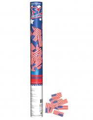 Canon confettis drapreau USA 60cm