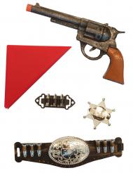 Kit cowboy 5 pièces enfant
