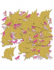Confettis de table licorne pailletées 70g